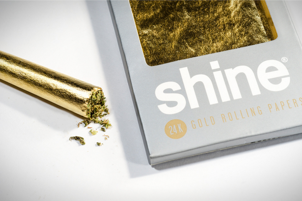 Humble and Fume SHINE 24K Gold Rolling Papers